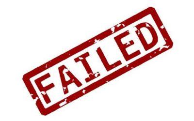 J'ai tenté une expérience cette semaine… et j'ai échoué